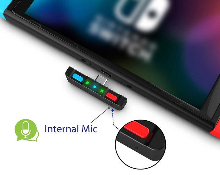 HomeSpotBluetooth Transmitter for Nintendo Switch