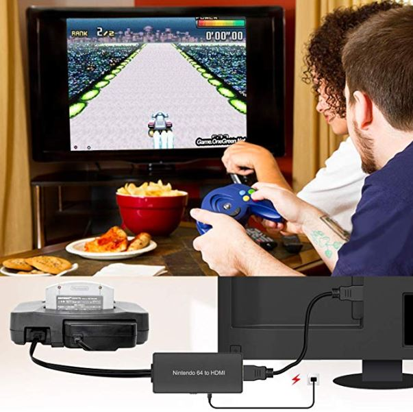 OnemeN64,Gamecube, SNES HDMI Adapter with 1080P/720P Support