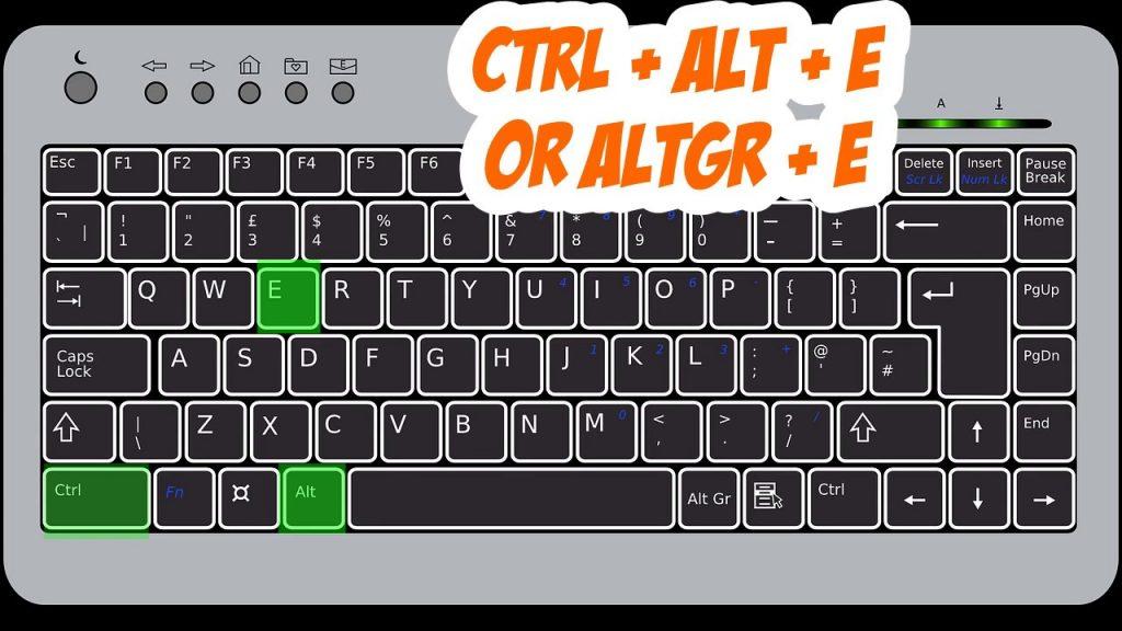 Euro Sign On Keyboard